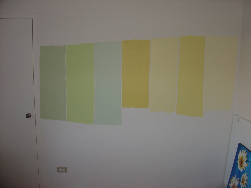 Nursery wall colors